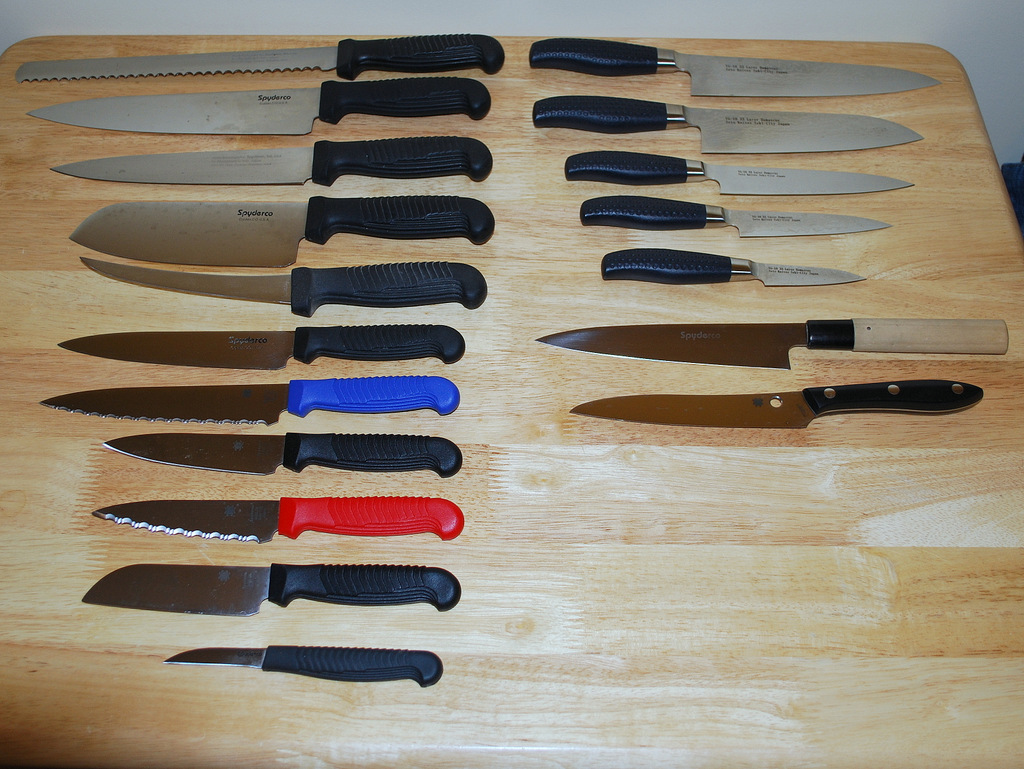what knives do you cook with spyderco forums